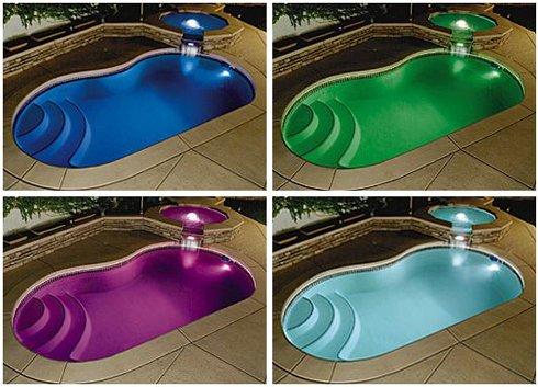 Fräscha Pool belysning - Förvandla din pool till ett nattparadis GB-44